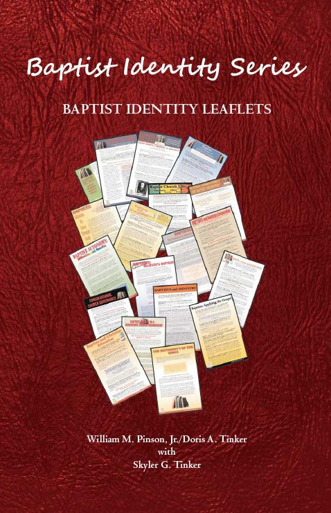 Folder for Baptist Identity Series Leaflets